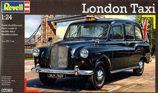 1958 Austin Fx4 London Taxi Revell Of Germany 1 24 Fs