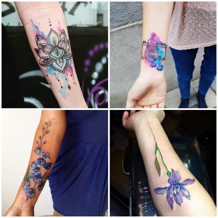 Arm bilder tattoo frauen 32 Schädel
