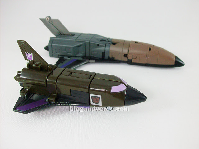 Transformers Explorer (FansProject Crossfire) - modo alterno vs Blast-Off G1 Encore