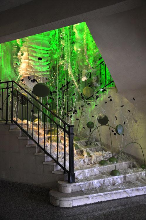 Casa FOA 2009: Espacio N°15, Instalación-Naturaleza-blanca, Hall-de-Acceso-N°2-Tribuna-Plaza, Arquitectura, Diseño, Decoracion