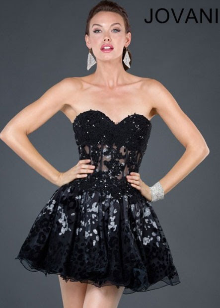Jovani evening cocktail dresses
