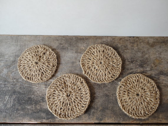 Rustic & Rugged Coaster Set of 4