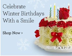 Celebrate Winter Birthdays with a Smile  Shop Now