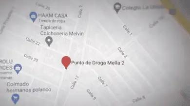 DE 46 PUNTOS DE DROGAS EN GOOGLE MAPS Y WAZE, 9 ERAN AUTÉNTICOS