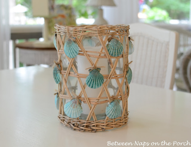 Seashell Craft Candle Holder
