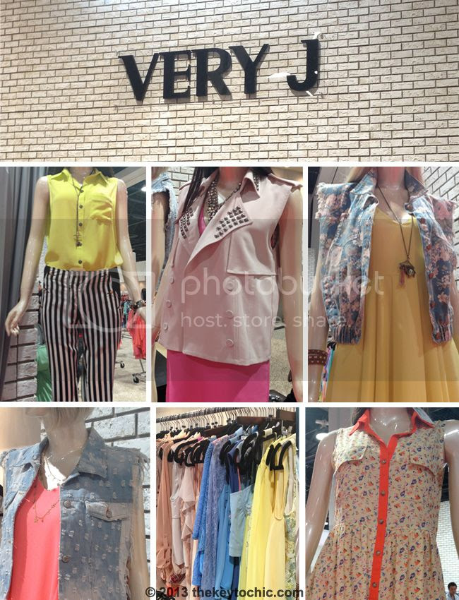 Juniors brand Very J clothing