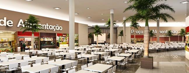 Praça de Alimentação do Shopping Cidade Luz será inaugurada nesta sexta, dia 11