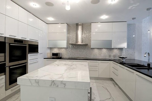 Miami Luxury Condo - Contemporary - Kitchen - Miami - by ...