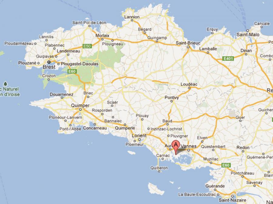 Le Bleu Des Iles Localisation