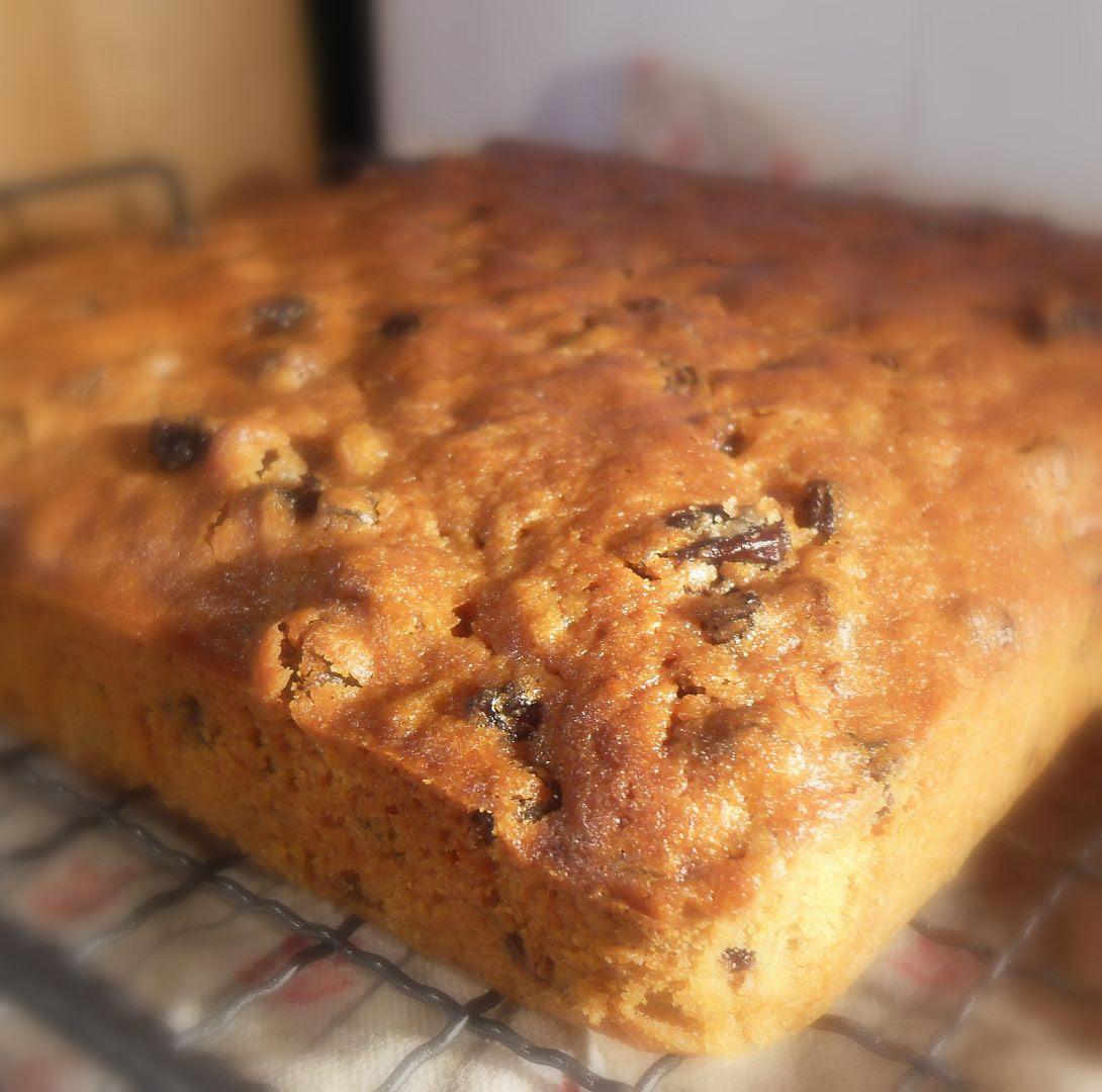English Boiled Fruit Cake Recipe