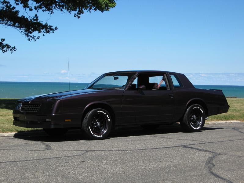 My 85 Monte Carlo Ss