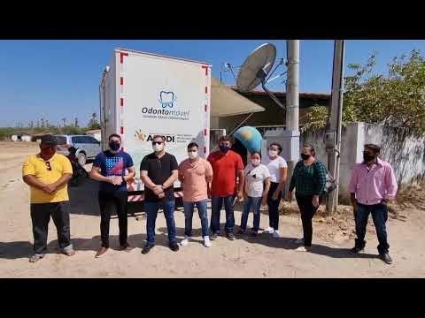 Nesta segunda-feira (20), o Odontomóvel concluiu os seus serviços na comunidade de Bela Vista, na Região do Vale. Agora, a unidade móvel vai parar na comunidade de Baixa Fechada 1. Confira no vídeo: