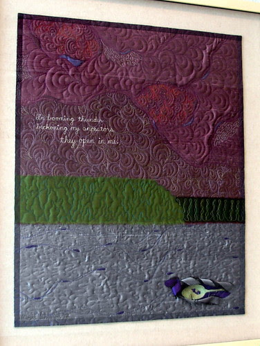 In Blooming Thunder Carol Shearon Quilt