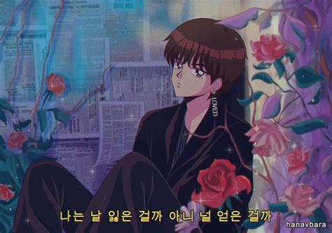 bts  anime aesthetic vocal   twitter lq