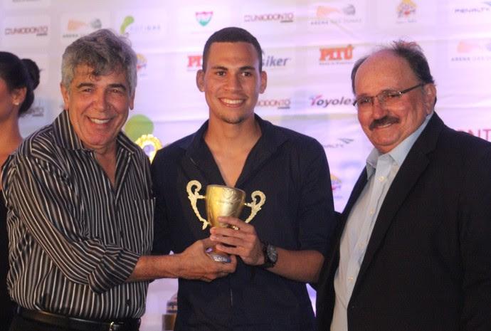 Pablo Oliveira, Globo FC, Prêmio Craque Potiguar (Foto: Fabiano de Oliveira)