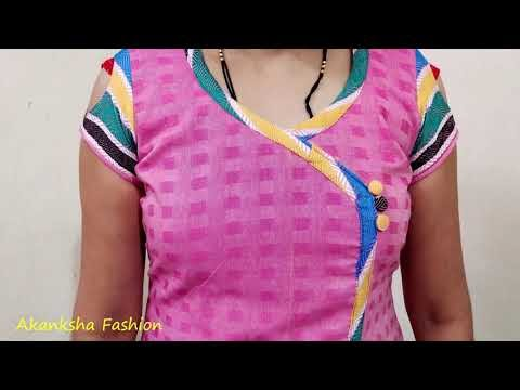 Easy and Stylish Neck Design of 2020 for Kurti