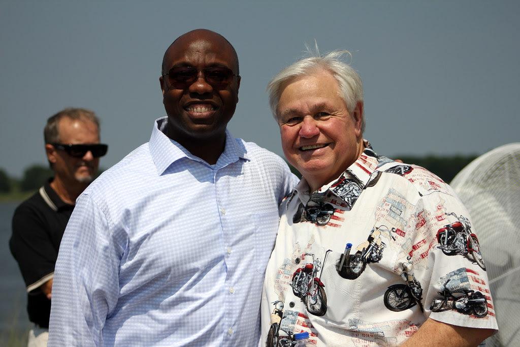 North Charleston 4th of July Festival - Congressman Tim Scott and Mayor Keith Summey