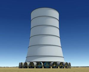 Arizona town to get solar wind energy tower
