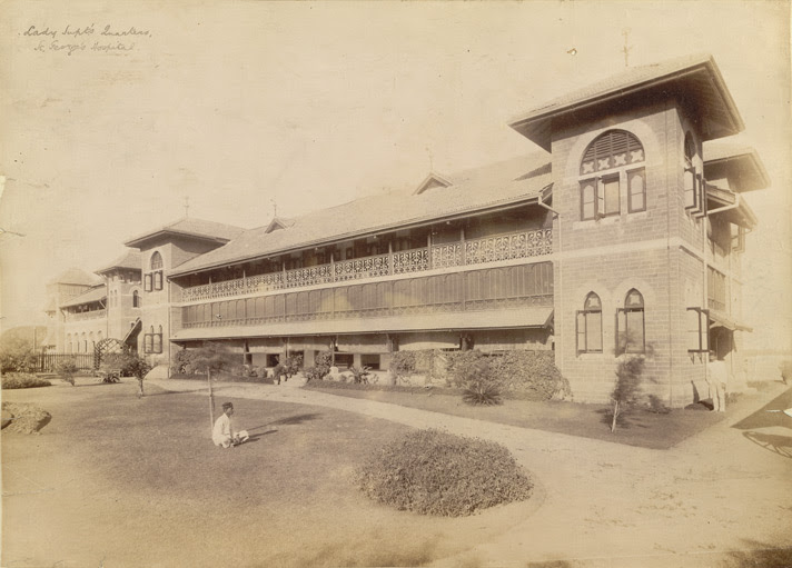Lady Supt's Quarters, St George's Hospital, [Bombay].