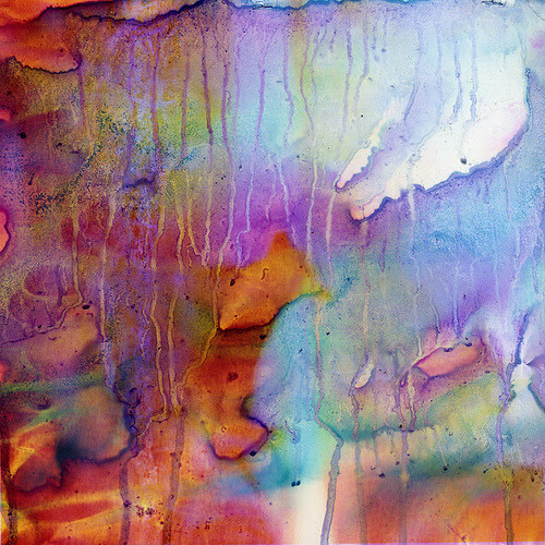 What happens when you mix color photographs and household bleach? A beautiful mess, from photojojo. (by Sarah Palmer)