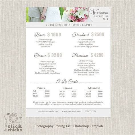 25  Best Ideas about Price List on Pinterest   Photography