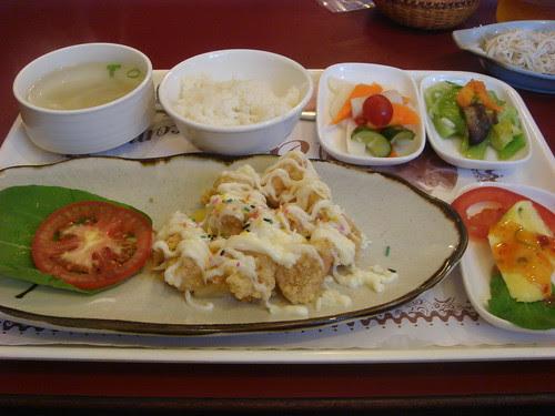 """my """"fong li shia chow"""" set meal"""