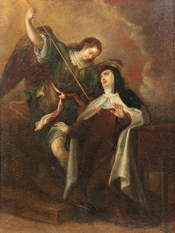 Francisco Camilo (Madrid 1615-1671) The Ecstasy of Saint Teresa