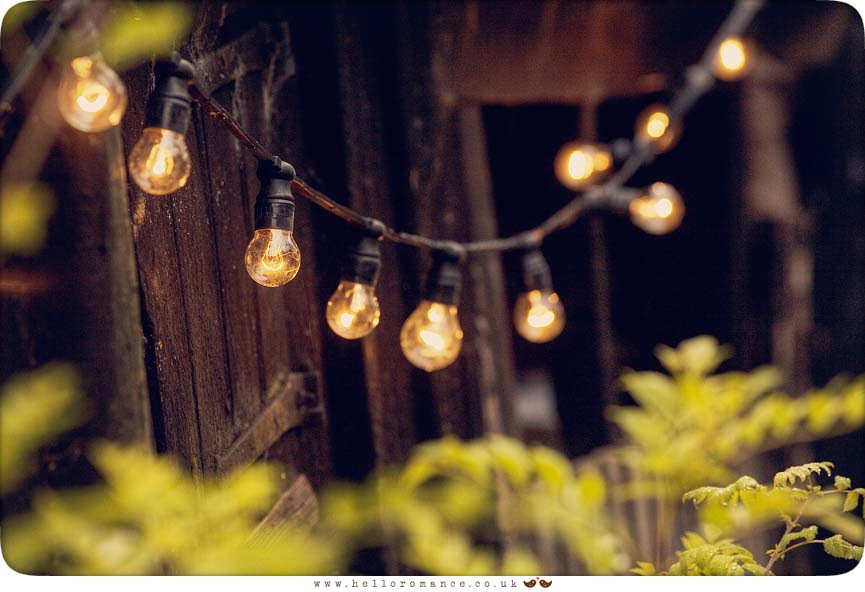 Light Bulbs Wedding Decoration - Hello Romance