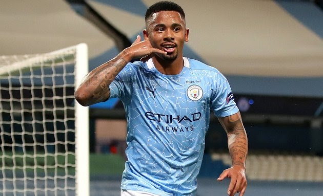 Manchester City will seek to double the wages of Gabriel Jesus.