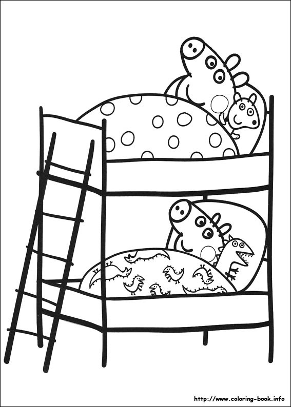 4400 Coloring Pages For Peppa Pig  Images
