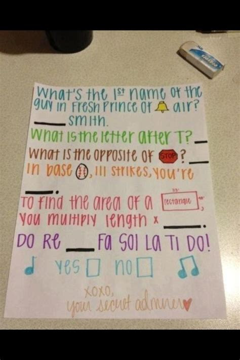 A cute way to ask someone out   Quotes/ Funnies