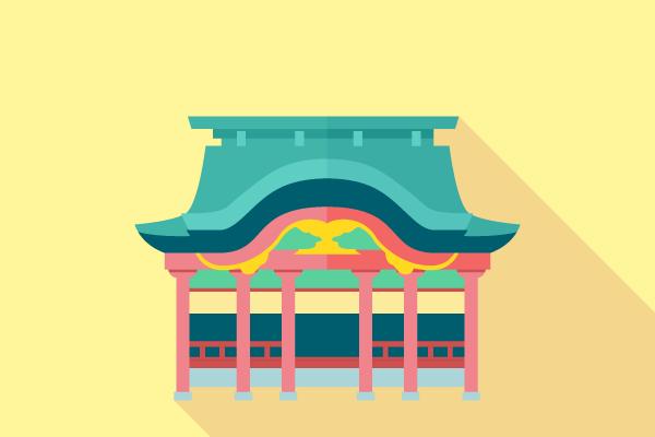 無料の神社イラスト 街建物系イラスト専門サイトtown Illust