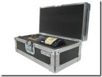 koerier zaventem flightcase champagne breekbaar