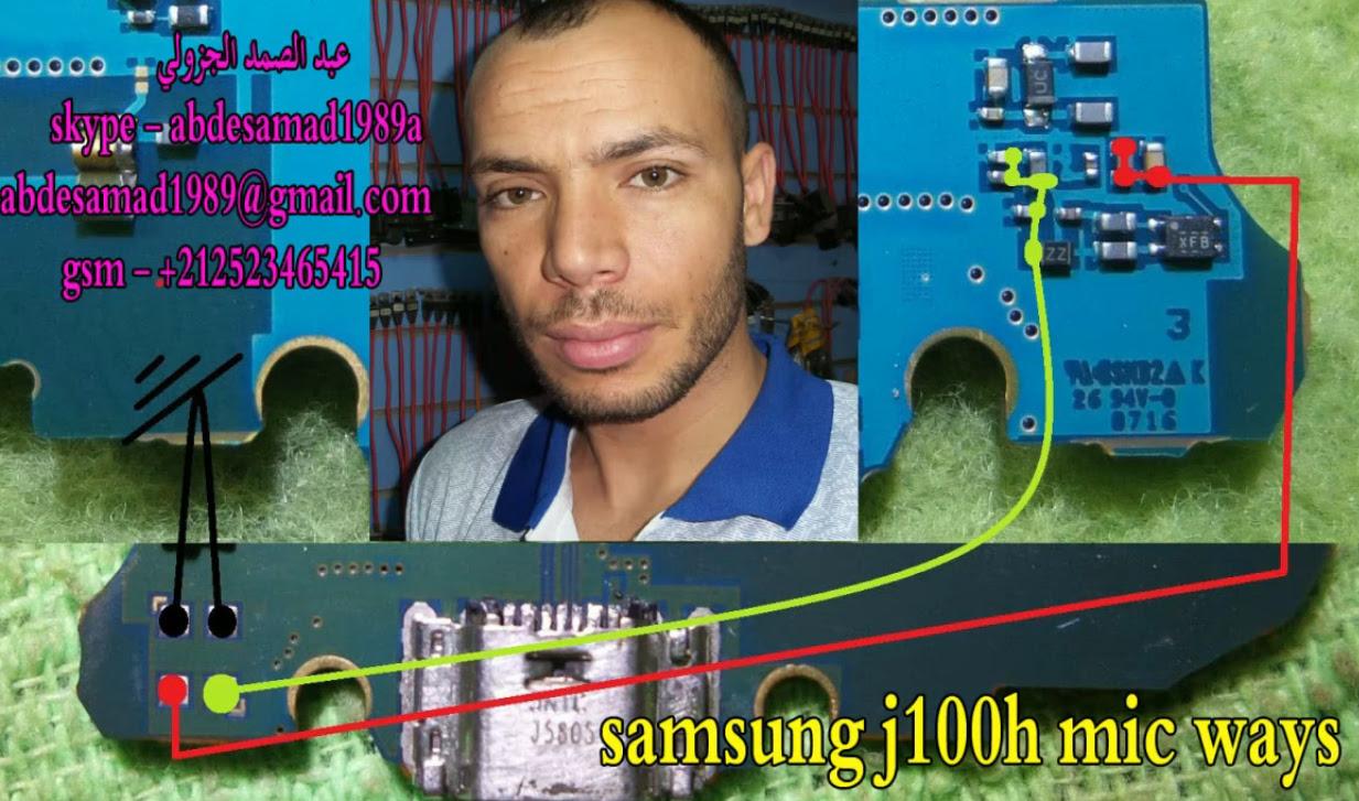Samsung Galaxy J1 J100  Mic Solution Jumper Problem Ways Microphone