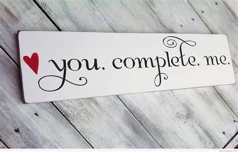 You Complete me HD love wallpaper