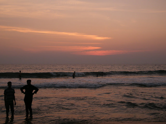 Beautiful Varkala Beach, Kerala