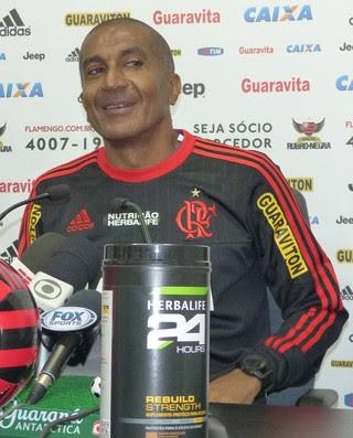 Cristóvão Borges Flamengo coletiva (Foto: Fred Gomes)