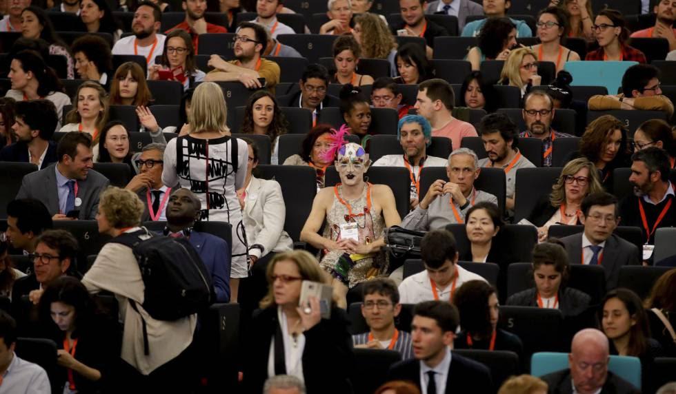 Público asistente a la primera edición del Foro Mundial sobre Violencias Urbanas celebrado en la capital española.