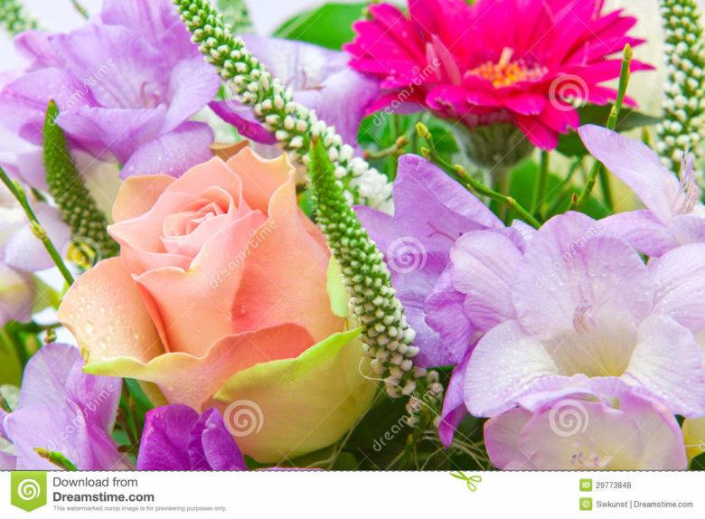 Jolie Carte Anniversaire Femme Fleurs Aleisha