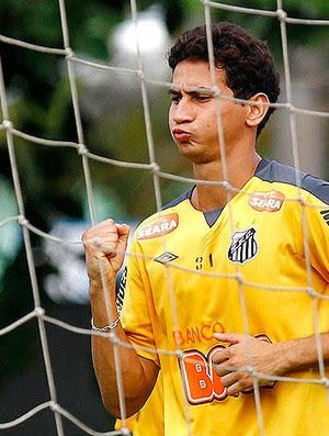 Ganso no treino do Santos (Foto: Ricardo Saibun / Divulgação Santos FC )