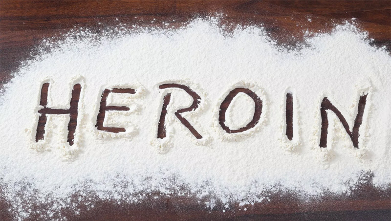 Thirty kgs. heroin seized during last six months