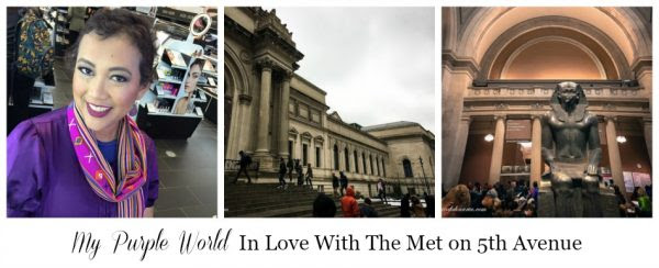 My Purple World In Love With The Met on 5th Avenue