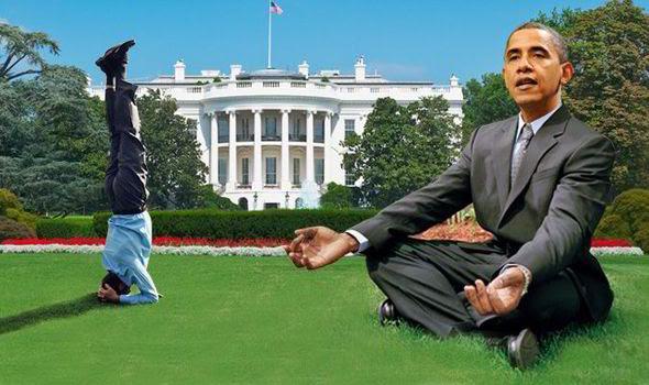 Barack Obama Yoga