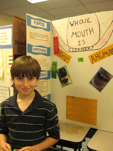 Gavin's 1st Science Fair