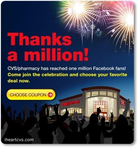 i heart cvs  million fans cvs coupons