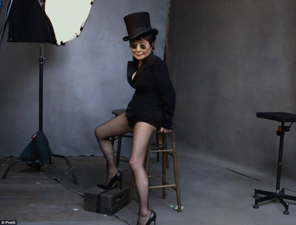 Fazer uma declaração: artista e músico, Yoko Ono foi comemorado por quebrar fronteiras desde seus dias como a esposa de John Lennon