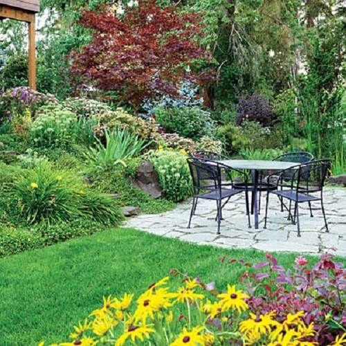 Terracing ideas for a sloping backyard