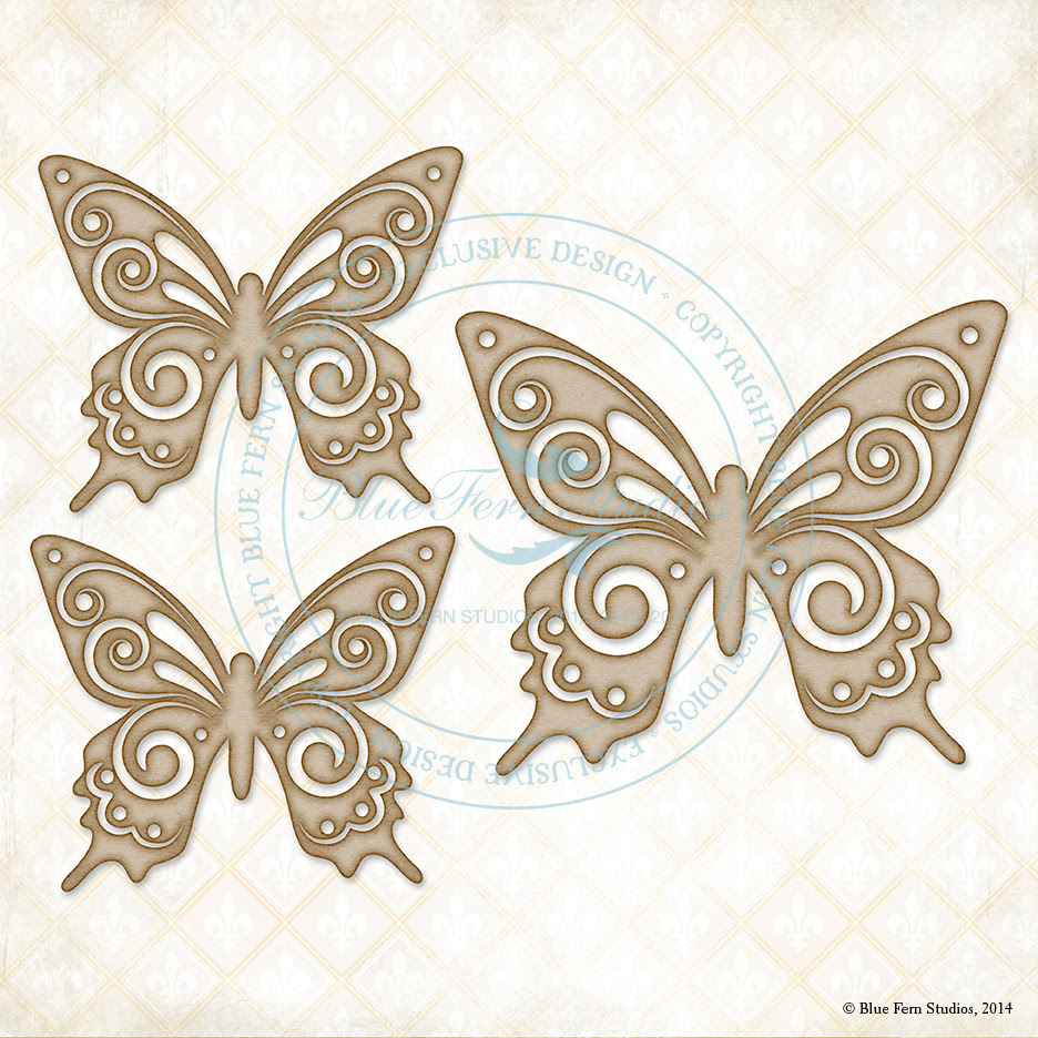 Brigitte Butterfly Set