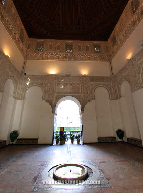 interior of Real Alcázar