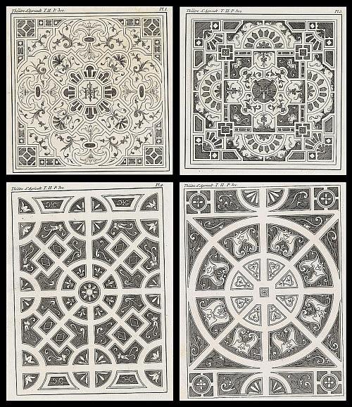 parterre designs by Olivier de Serres